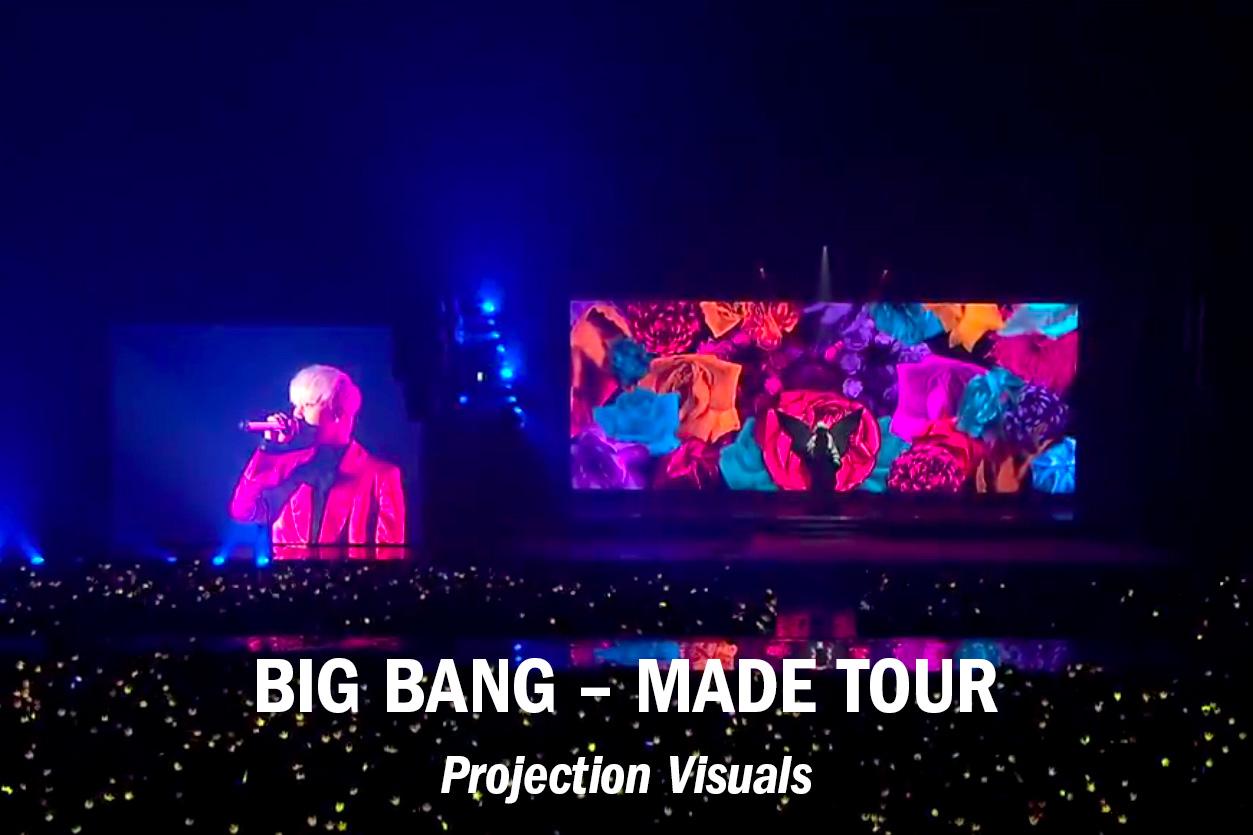 """Big Bang – """"Made"""" Tour /// Role: Edit + VFX"""