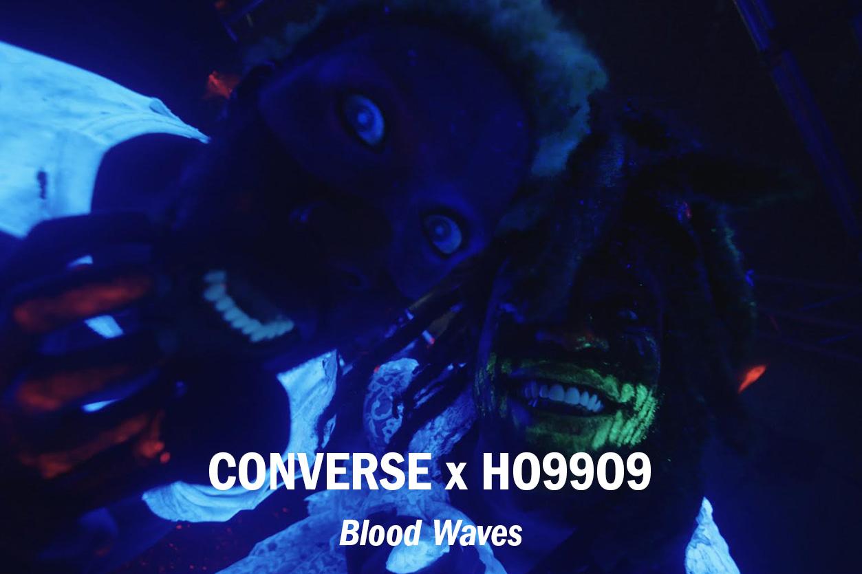 "Converse x Ho99o9 – ""Blood Waves"" Interactive Music Video dir. Radical Friend /// Edit + VFX + Title Design"