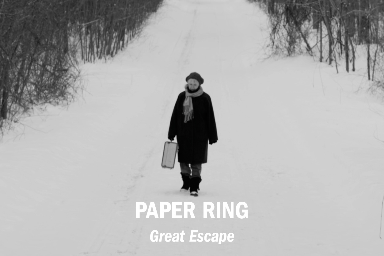 "Paper Ring – ""Great Escape"" music video, dir. Sal Bardo /// Role: Editor"