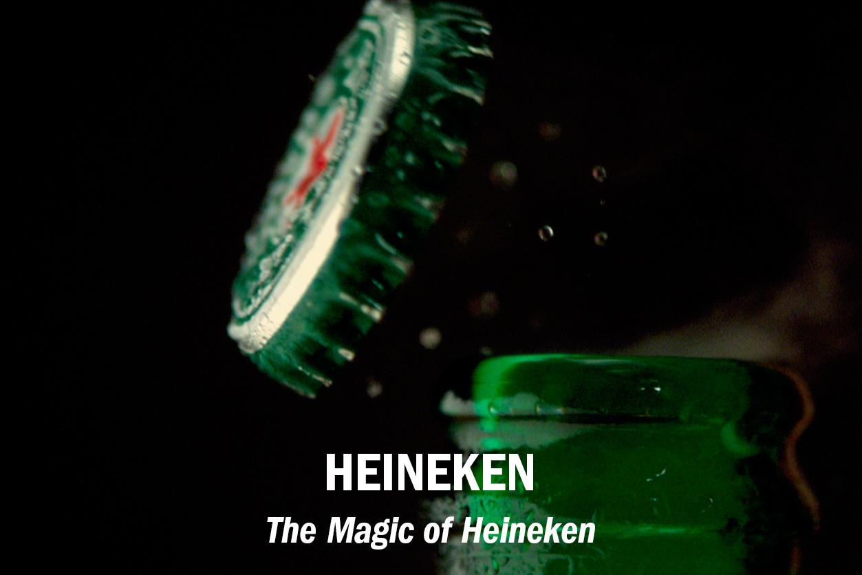 """The Magic of Heineken"" – feature documentary, dir. Michael John Warren /// Role: Editor (both film and trailer) + GFX"