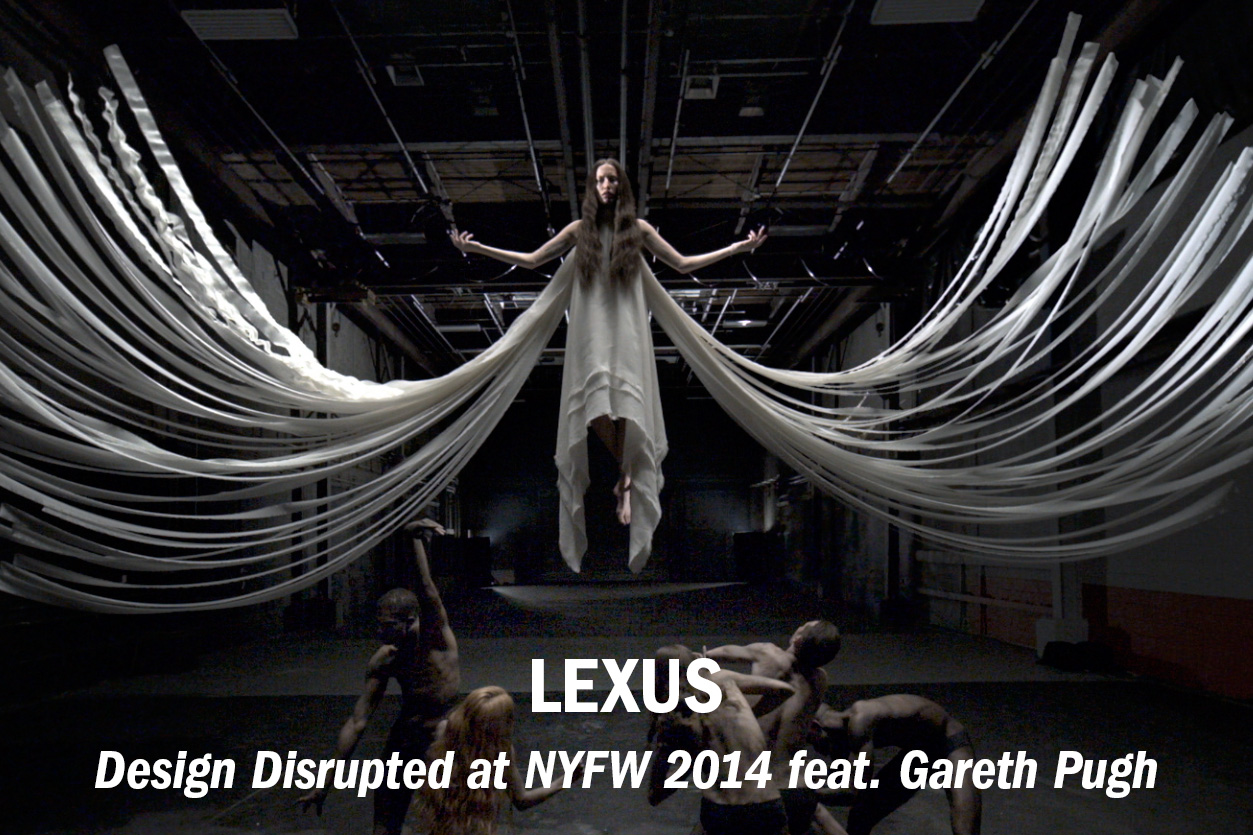 Lexus presents Design Disrupted feat. Gareth Pugh for NYFW 2014 /// Role: Editor + GFX