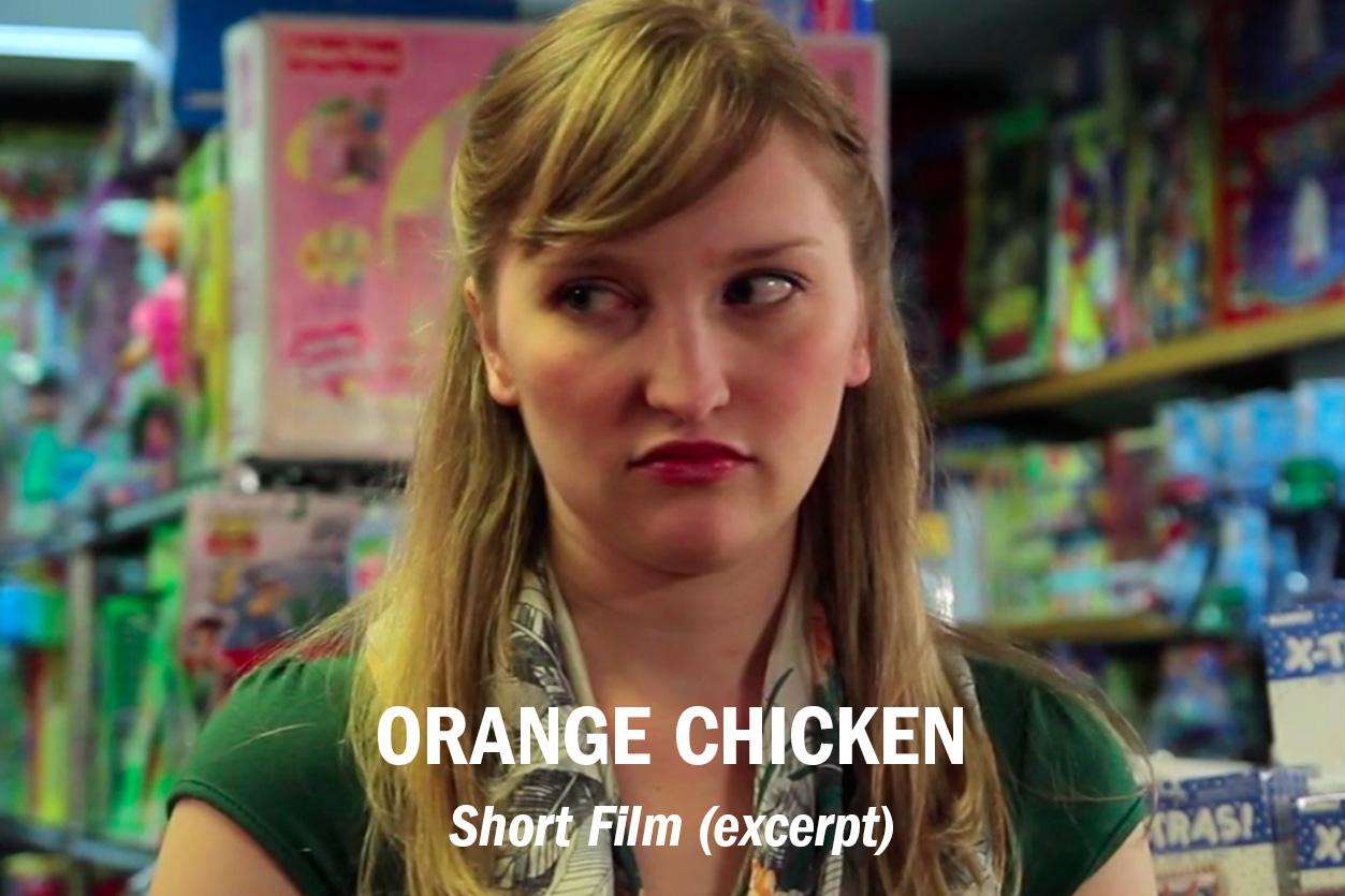 """Orange Chicken"" (short film – excerpt), dir. Nina Braddock /// Role: Editor"