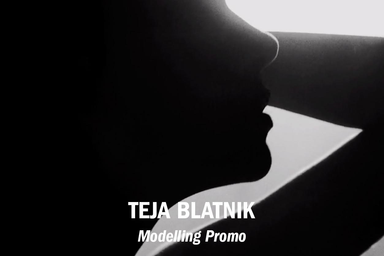 Teja Blatnik modelling promo, dir. Jaka Vinsek /// Role: Editor + GFX