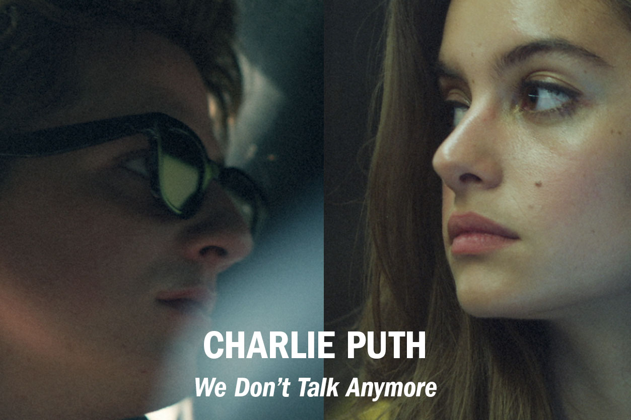 "Charlie Puth – ""We Don't Talk Anymore"" feat. Selena Gomez (Official Music Video), dir. Phil Pinto /// Role: Editor"